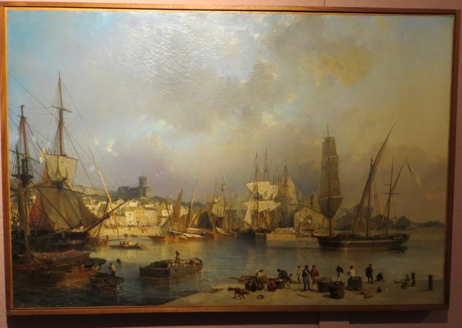Vue de la ville et du port du Sète, 1849, Julius Hintz IMG_7667